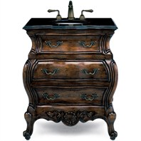 "Cole & Co. 30"" Premier Collection Lorraine Chest - Aged Chestnut"