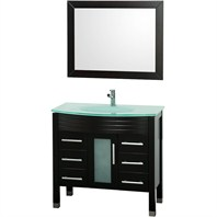 "Bridget 36"" Bathroom Vanity Set - Espresso OM-2106-36-ESP"