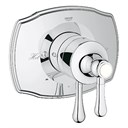 Grohe GrohFlex Authentic Dual Function Pressure Balance Trim with Control Module - Starlight Chrome GRO 19844000