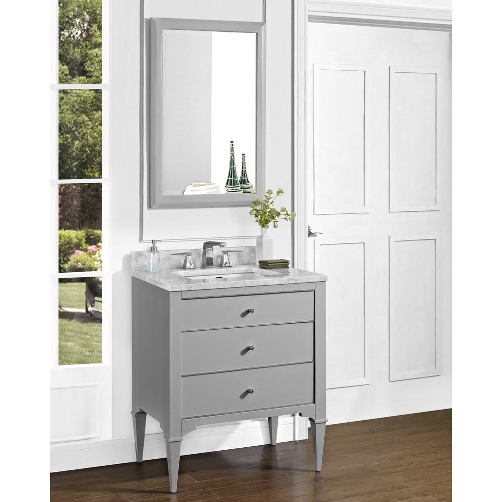 "Fairmont Designs Charlottesville 30"" Vanity - Light Graynohtin Sale $1295.00 SKU: 1510-V30 :"