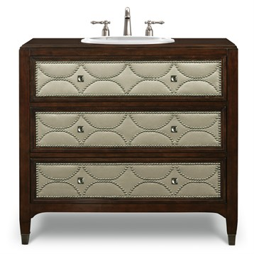 """Cole & Co. 41"""" Designer Series Cameron Sink Chest, Medium Chestnut 11.23.275541.27 by Cole & Co."""
