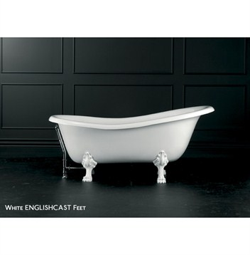 Roxburgh clawfoot bathtub by victoria and albert free for Victoria albert clawfoot tub