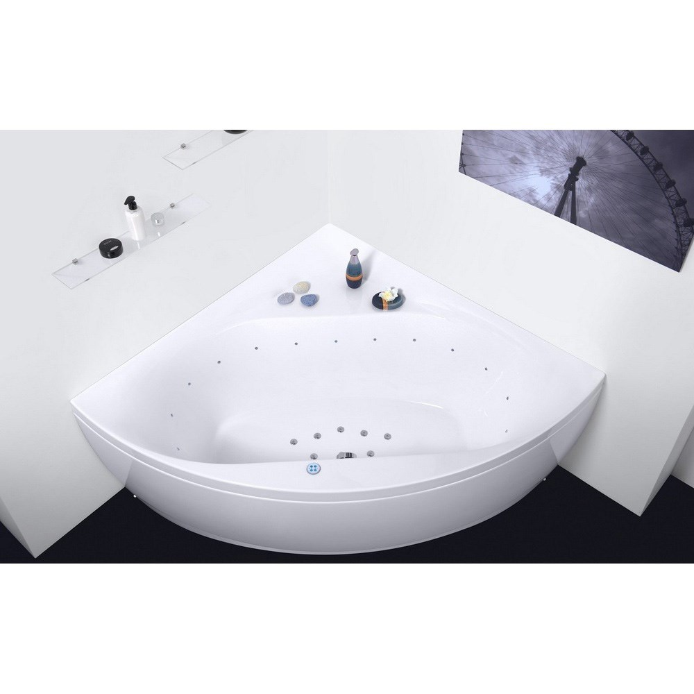 Aquatica Olivia-Wht Relax Air Massage Bathtub - White Aquatica Oliv-Wht-Rlx
