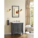 "Fairmont Designs Rustic Chic 30"" Vanity for Integrated Top - Silvered Oak 143-V30-"