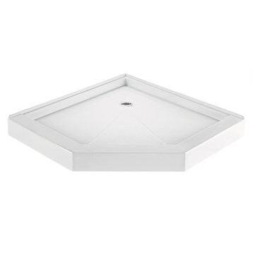 "MTI MTSB-36NA Shower Base, 36"" x 36"" MTSB-36NA by MTI"