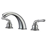WC-F108 Widespread Contemporary Bathroom Faucet WC-F108