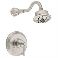 Danze Opulence Trim Only Single Handle Pressure Balance Shower Faucet - Brushed Nickel D512657BNT
