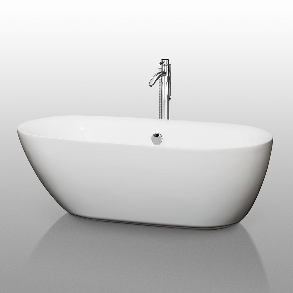 """Melissa 65"""" Soaking Bathtub by Wyndham Collectionnohtin Sale $1399.00 SKU: WC-BT1000-65 :"""