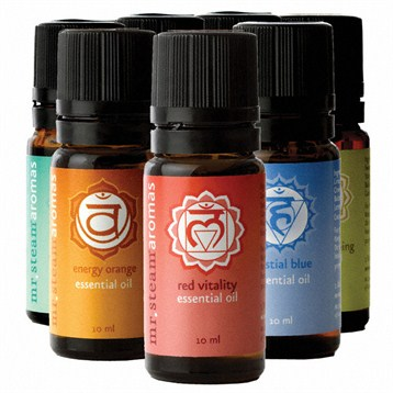 Mr. Steam Chakra Blend Essential Oils, 7 Pack MS CHAKRA7 by mr. steam