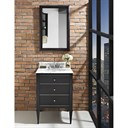 "Fairmont Designs Charlottesville 24"" Vanity for Undermount Oval Sink - Vintage Black 1511-V24_"