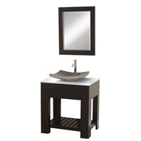 "Zen II 30"" Bathroom Vanity Set by Wyndham Collection - Espresso WC-MB1000-30-ESP-"