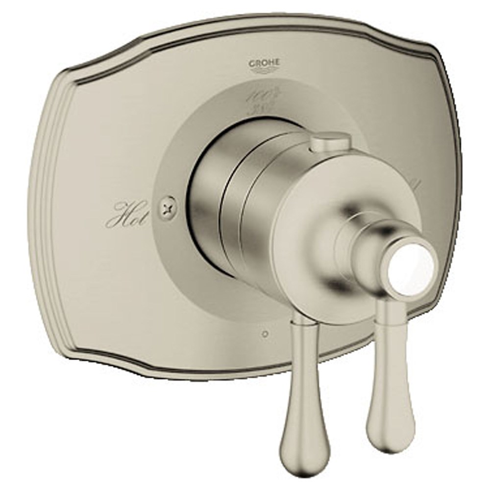 Grohe GrohFlex Single Function Thermostatic Trim with Control Module - Brushed Nickel GRO 19822EN0