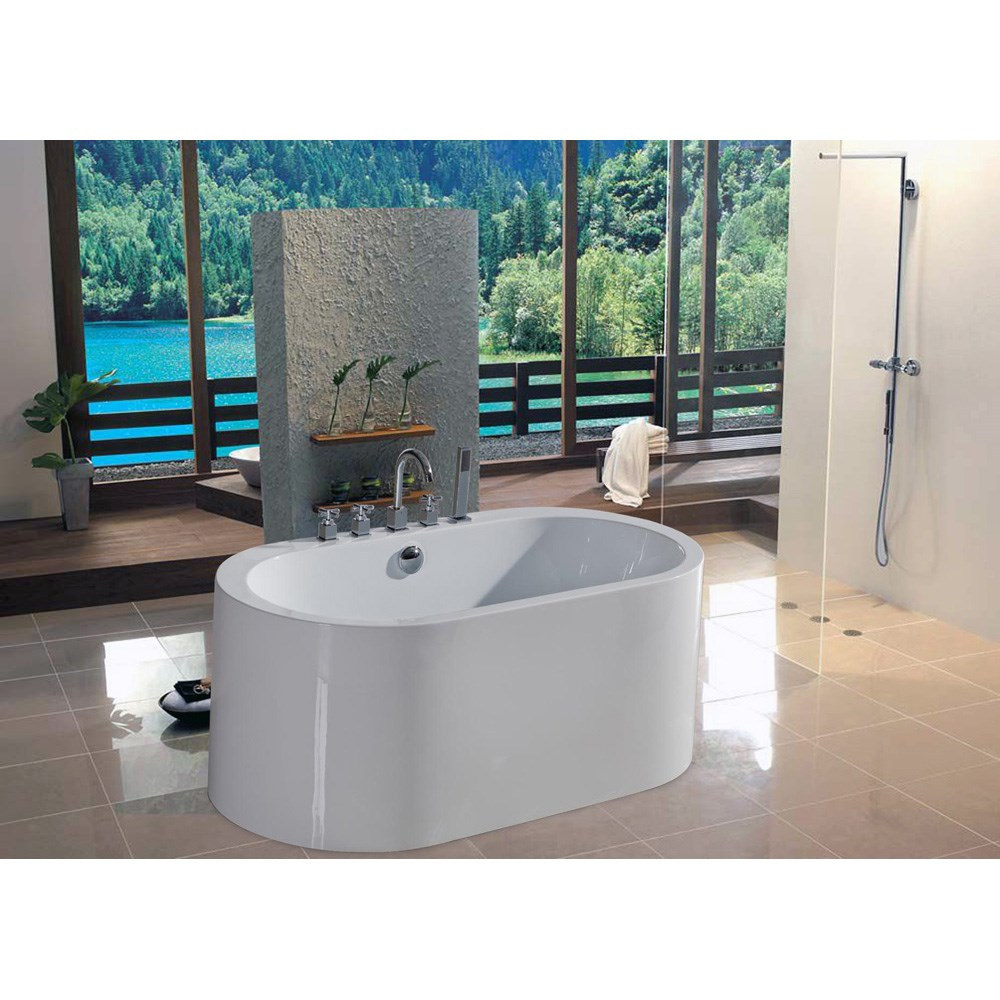 Aquatica PureScape 169 Freestanding Acrylic Bathtub - Whitenohtin Sale $2484.00 SKU: Aquatica PS169 :