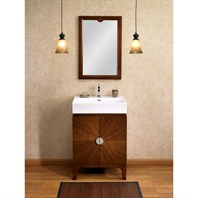 "Fairmont Designs Moon Bay 24"" Vanity - Brown Cabernet 132-VS24"