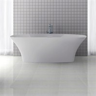 "Americh International Roc Collection Freestanding Bathtub (71"" x 31"" x 23"") AI2202-WH"