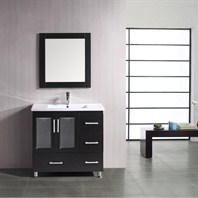 "Design Element Stanton 36"" Bathroom Vanity - Espresso B36-DS"