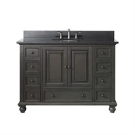 "Avanity Thompson 48"" Single Bathroom Vanity - Charcoal Glaze THOMPSON-48-CL"
