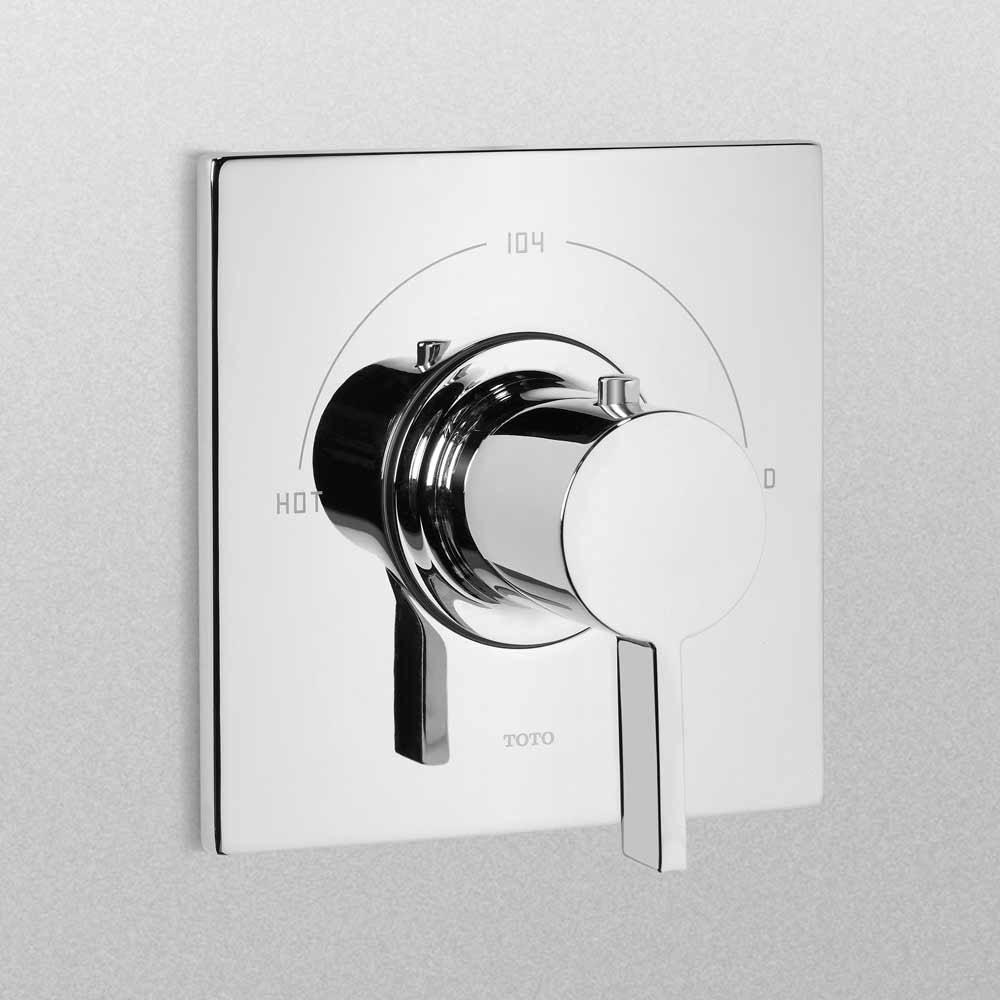 TOTO Legato Thermostatic Mixing Valve Trimnohtin Sale $173.60 SKU: TS624T :