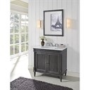 "Fairmont Designs Rustic Chic 36"" Vanity - Silvered Oak 143-V36_"
