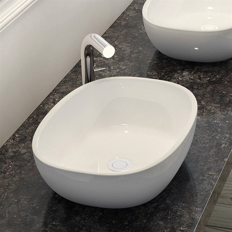 Barcelona 64 Vessel Sink by Victoria and Albert VB-BAR-64-NO (CS768)