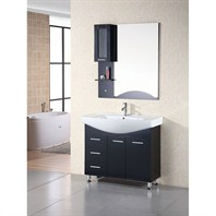 "Design Element Designer's Pick 40"" Bathroom Vanity Set - Espresso DEC026"