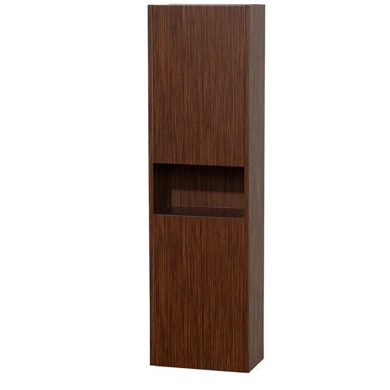 Diana Wall Cabinet by Wyndham Collection - Zebrawood WC-V203-ZEBRA