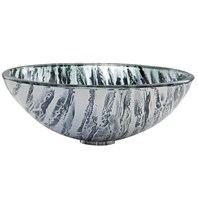 VIGO Rising Moon Glass Vessel Sink VG07052