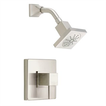 Danze Reef Trim Only Single Handle Pressure Balance Shower Faucet, Brushed Nickel D502533BNT by Danze