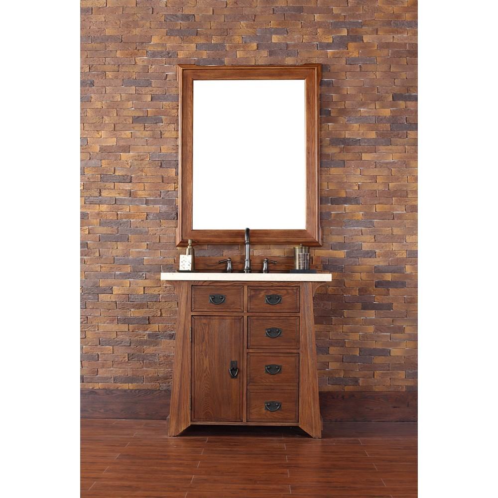 "James Martin 36"" Pasadena Single Vanity - Antique Oaknohtin Sale $1235.00 SKU: 250-V36-ANO :"