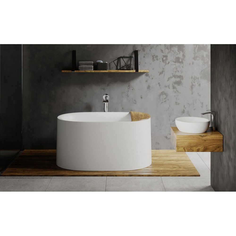 End drain freestanding soaking tub for Best soaker tub for the money
