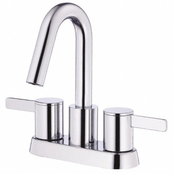 Danze Amalfi Two Handle Centerset Lavatory Faucet   Chrome | Free Shipping    Modern Bathroom