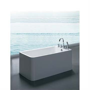 Delightful Aquatica PureScape 327B Freestanding Acrylic Bathtub   White | Free  Shipping   Modern Bathroom