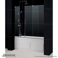 "Bath Authority DreamLine Mirage Frameless Tub Door (56""-60"") SHDR-19605810"