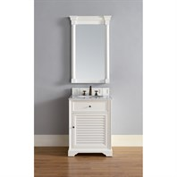 "James Martin 26"" Savannah Single Vanity - Cottage White 238-104-V26-CWH"