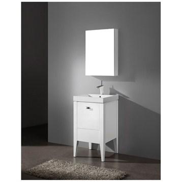 "Madeli Andora 20"" Bathroom Vanity, Glossy White B910-20-001-GW by Madeli"