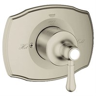 Grohe GrohSafe Authentic Single Function Pressure Balance Trim with Control Module - Brushed Nickel GRO 19843EN0