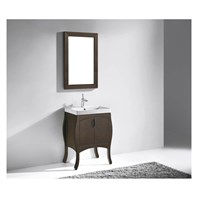 "Madeli Sorrento 27"" Bathroom Vanity for Integrated Basin - Walnut B953-27-001-WA"
