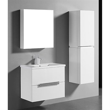 "Madeli Urban 30"" Bathroom Vanity for Integrated Basin, Glossy White B300-30-002-GW by Madeli"