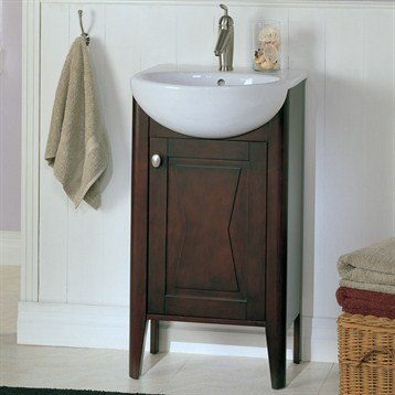 Fairmont designs 20 lifestyle collection bowtie vanity - Small bathroom sink and vanity combo ...