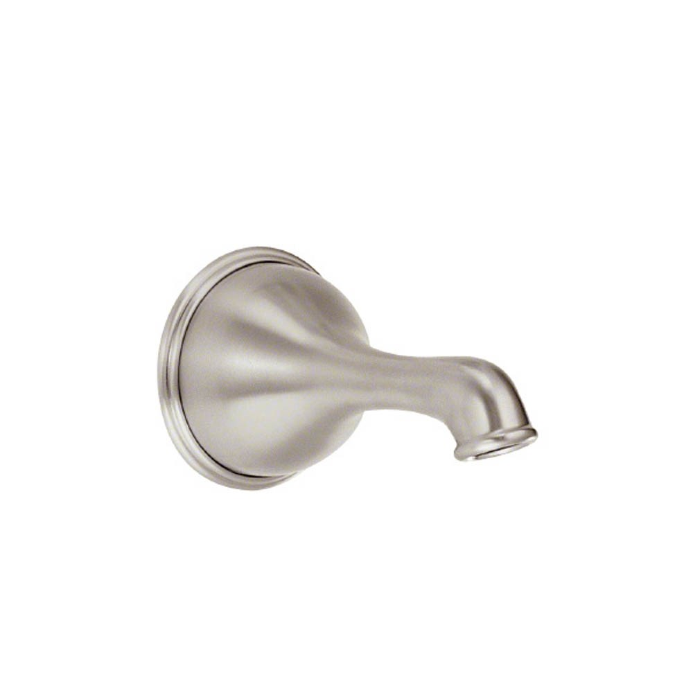 "Danze Opulence 6"" Wall Mount Tub Spout without Diverter - Brushed Nickelnohtin Sale $72.00 SKU: DA666573BN :"