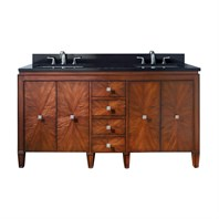 "Avanity Brentwood 61"" Bathroom Vanity - New Walnut BRENTWOOD-61-NW"