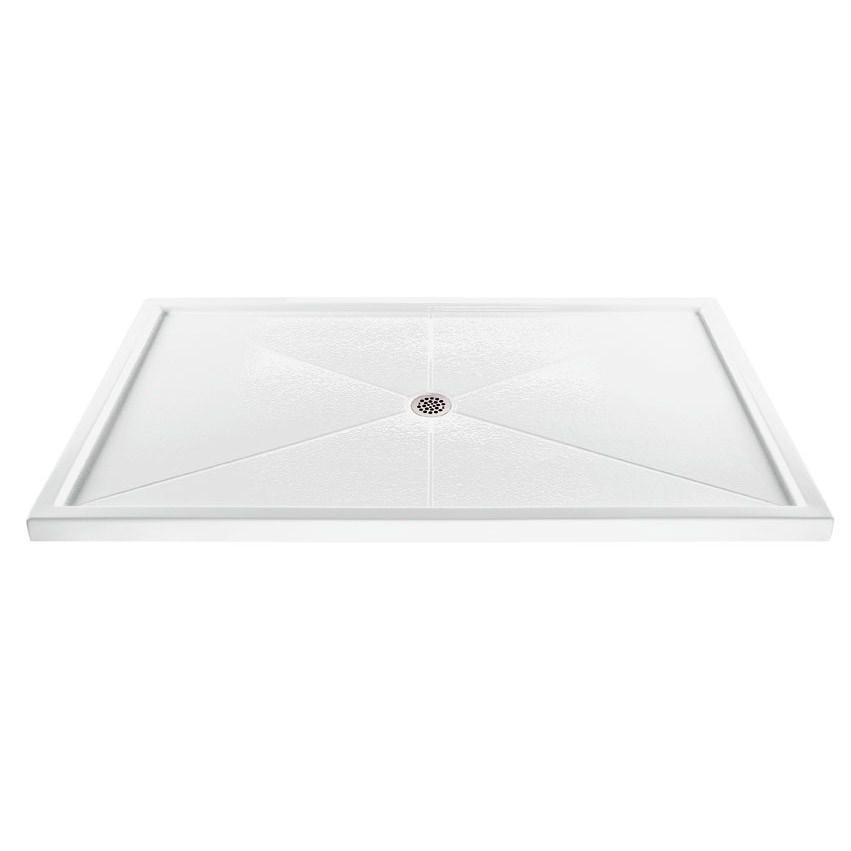 """MTI MTSB-5436MT Shower Base (54"""" x 36"""")nohtin Sale $1083.75 SKU: MTSB-5436MT :"""