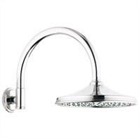 Grohe Rainshower Retro Shower Arm - Starlight Chrome