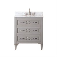 "Avanity Kelly 30"" Single Bathroom Vanity - Grayish Blue  KELLY-30-GB"