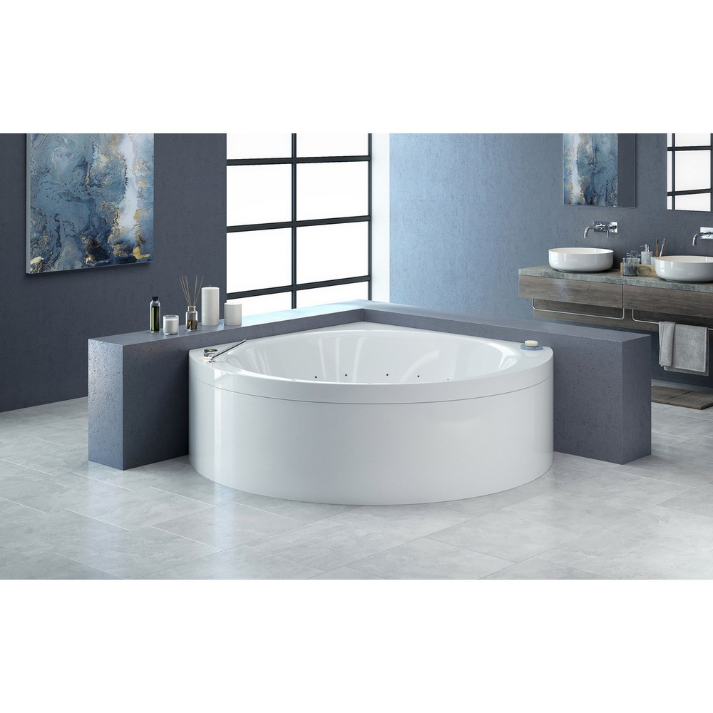 Aquatica Suri-Wht Relax Air Massage Bathtub - White | Free Shipping ...