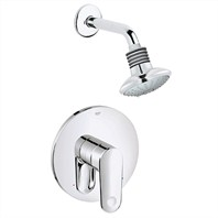 Grohe Europlus Shower Combination Pressure Balance Valve Trim - Starlight Chrome