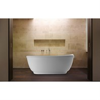 Aquatica Fido Freestanding Solid Surface Bathtub Aquatica Fido