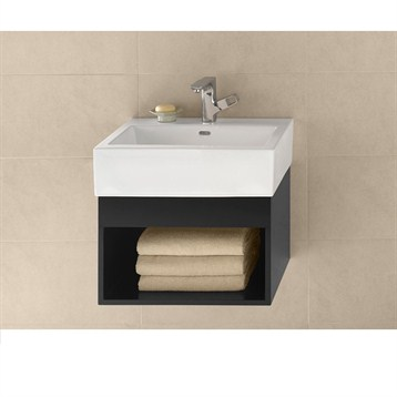 "Ronbow Catalina 22"" Vanity Integrated, Black Ronbow 016722-B02-INTEGRATED by Ronbow"