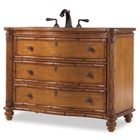 "Cole & Co. 48"" Designer Series Collection Bridgetown Sink Chest - Distressed Umber 11.24.275548.33"