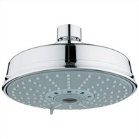 Grohe Rainshower Rustic Shower Head - Starlight Chrome